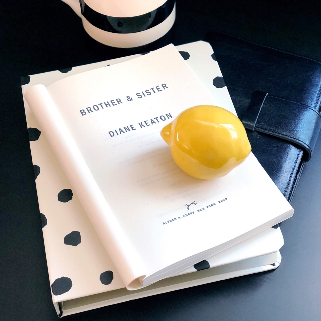 Diane Keaton book review from Botany and Bookends